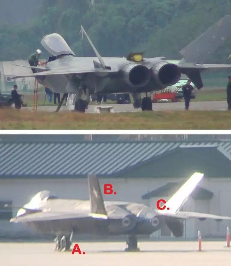 """美国空军证实美军基地中的""""歼-20""""用途(图)"""