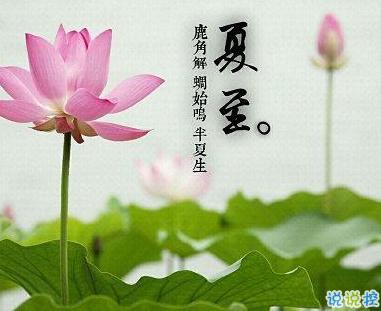 2019最新夏至祝福语致所有人夏至到来愿你快乐一夏发布时间:
