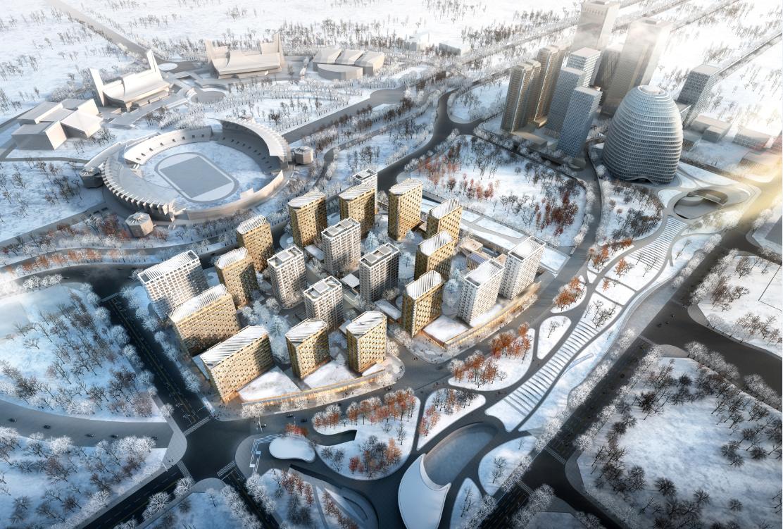 冬奥会北京赛区10个场馆年内完工 年底将迎测试赛