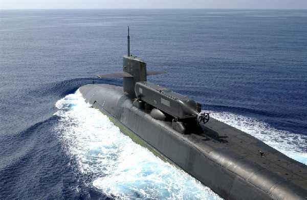 """美海军以""""蒙大拿""""冠名最新一艘弗吉尼亚级核潜艇"""