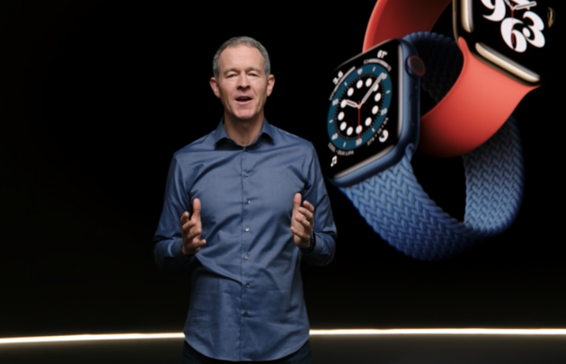 这次的手表是由苹果COO介绍的