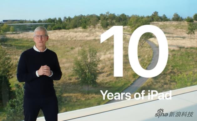 今年是iPad诞生的第十年