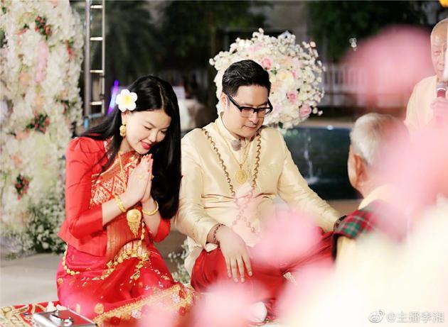 李湘王岳伦婚礼旧照