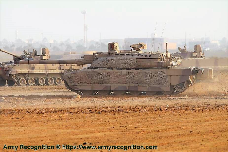 阿联酋决定向约旦赠送80辆二手坦克?已使用20多年