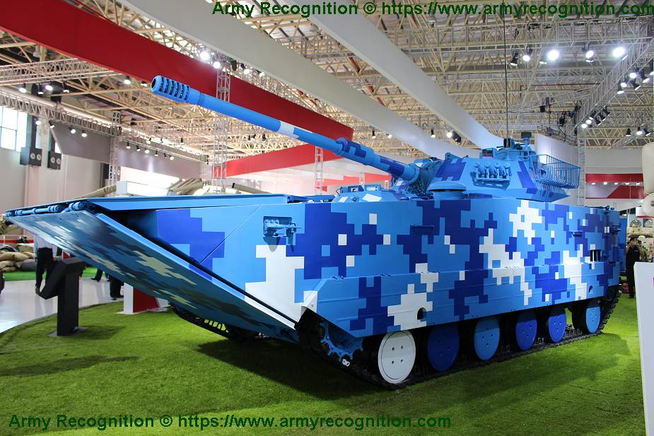 泰国选定中国VN16坦克 并将部署在071型登陆舰上