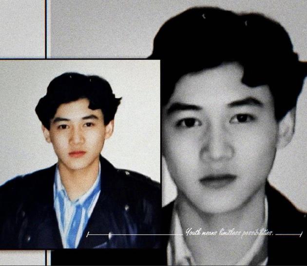 陆毅年轻时证件照