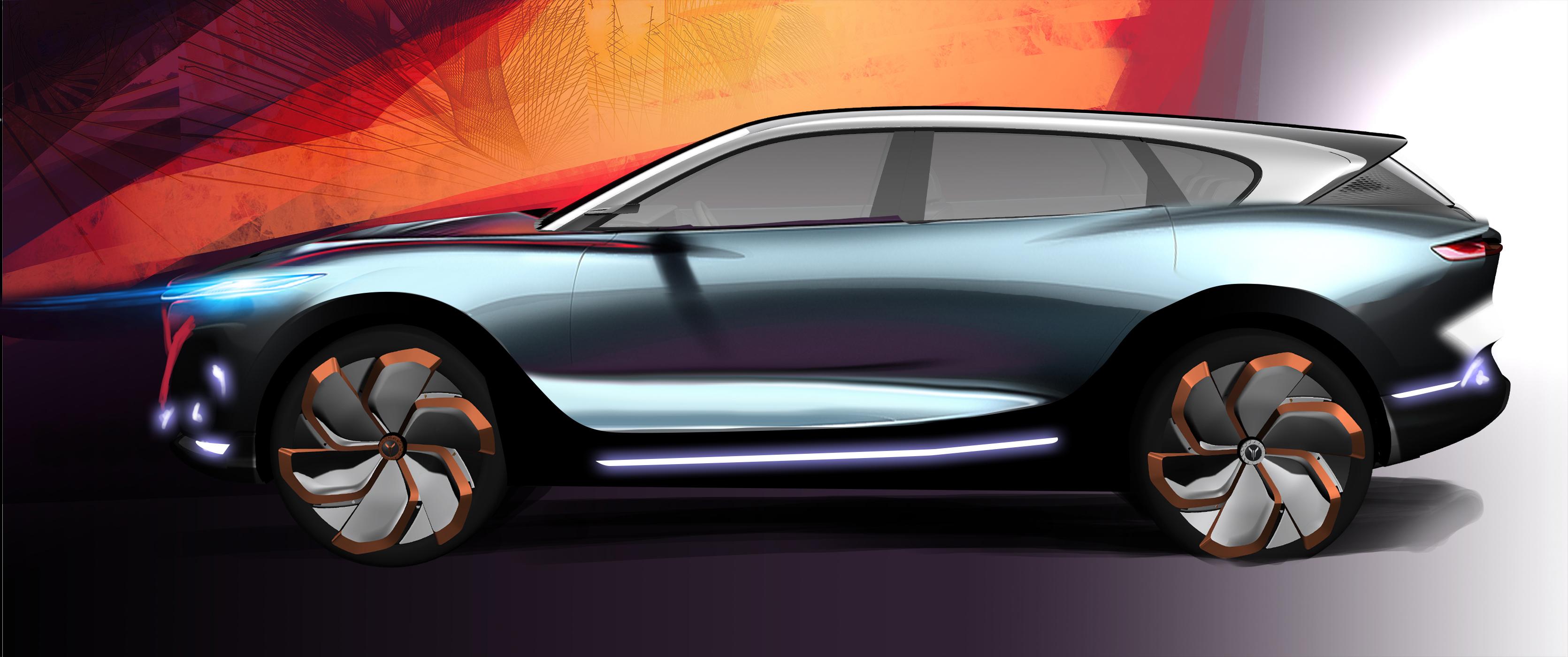 北京车展首发 岚图这款概念车将会量产