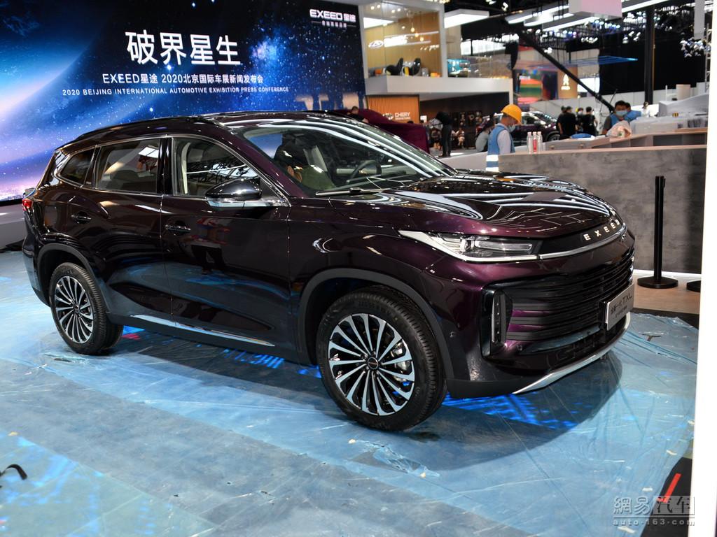 轴距空间远超同级 星途VX、TXL亮相北京车展