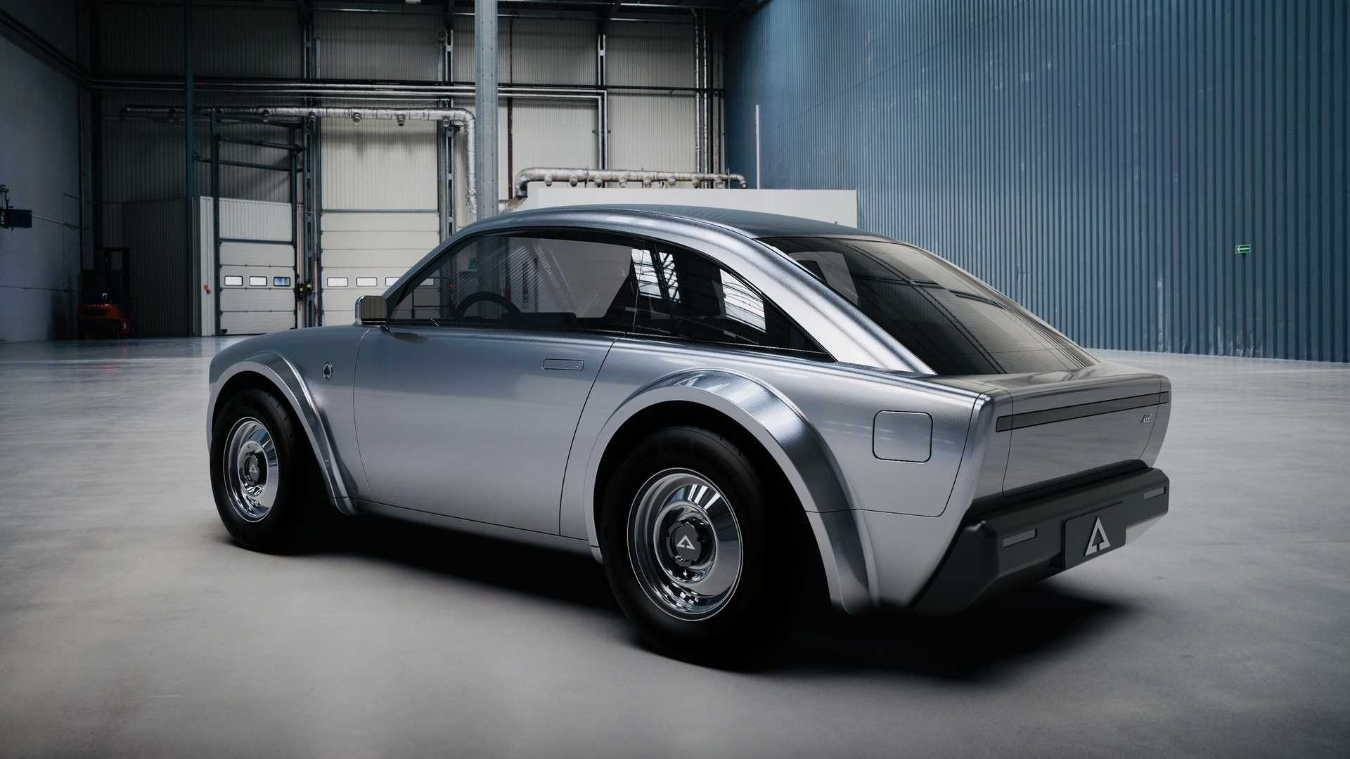 不排除量产 美国初创公司推出两座复古电动车