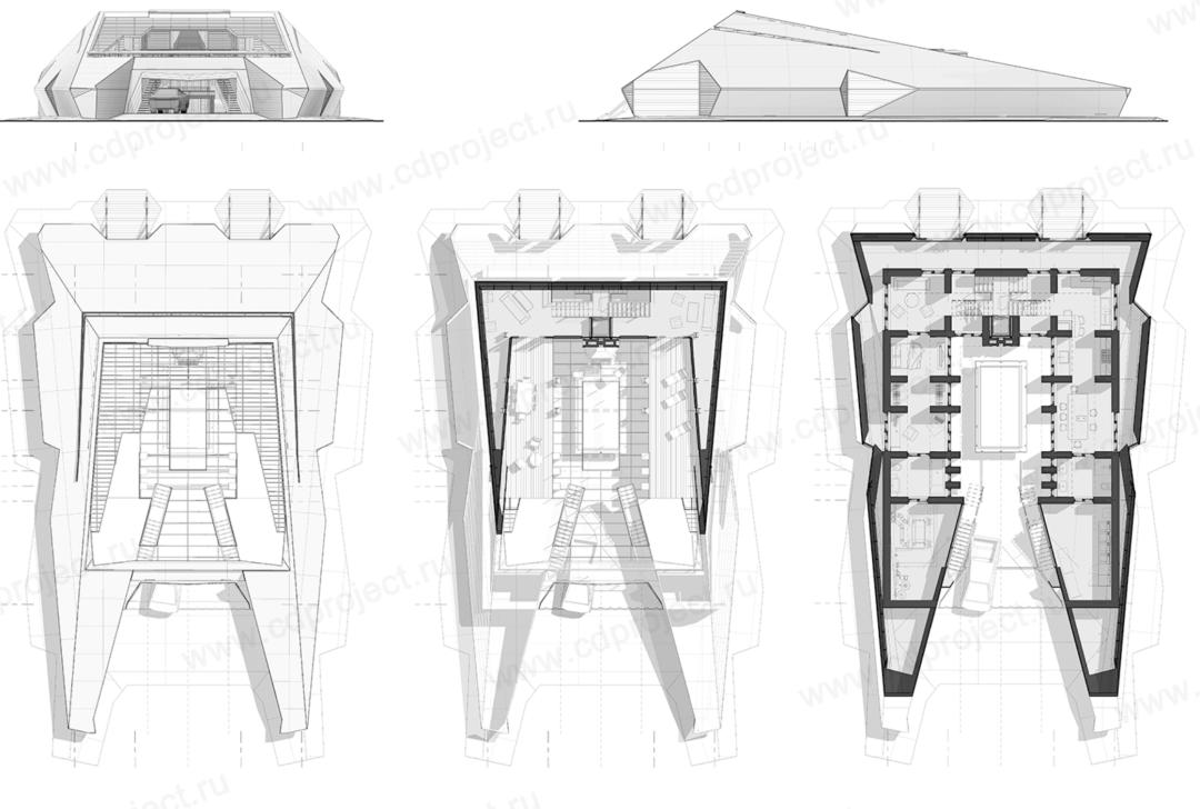 俄罗斯人造了栋坚不可摧的钢板房 造型酷似特斯拉
