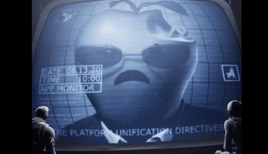 Epic制作了一个讽刺苹果的短片