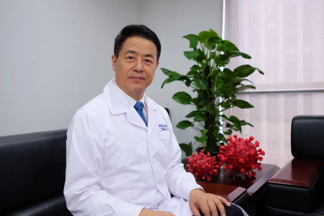 """中国生物董事长、国家""""863""""计划疫苗项目首席科学家杨晓明。"""