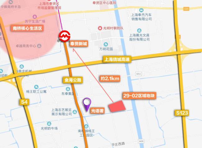 奉贤区南桥镇29-02区域地块